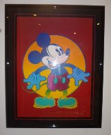 Disney's Mickey And Minnie set of 2 1996 Limited Edition Print by Peter Max - 2