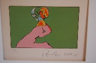 Facing Left 1976 Limited Edition Print by Peter Max - 1