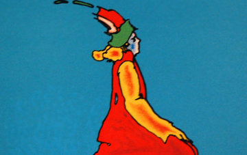 Facing East 1976 Limited Edition Print by Peter Max
