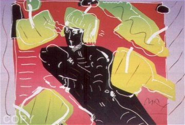 Dancer 1982 Limited Edition Print by Peter Max