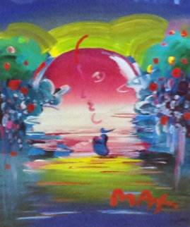 Rainforest Foundation 1998 34x30 Unique Works on Paper (not prints) by Peter Max