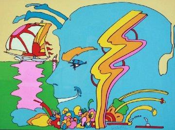 Mystic Sailing AP 1972 (Vintage) Limited Edition Print - Peter Max