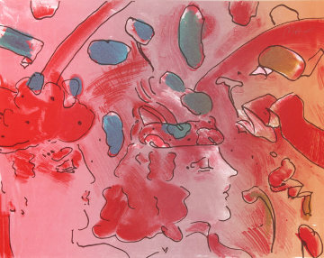 Reflections II  1979 Limited Edition Print by Peter Max