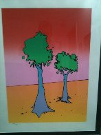 Life on a Yellow Planet Limited Edition Print by Peter Max - 1