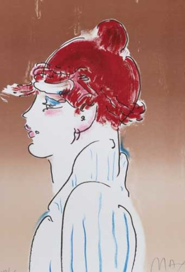 Girl From Ibiza 1981 Limited Edition Print by Peter Max