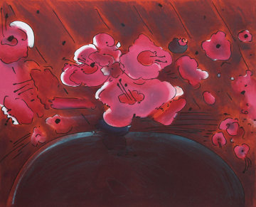 Marilyn's Flowers II 1981 Limited Edition Print - Peter Max