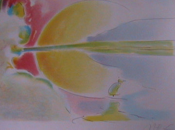 Freedom 1978 Limited Edition Print by Peter Max