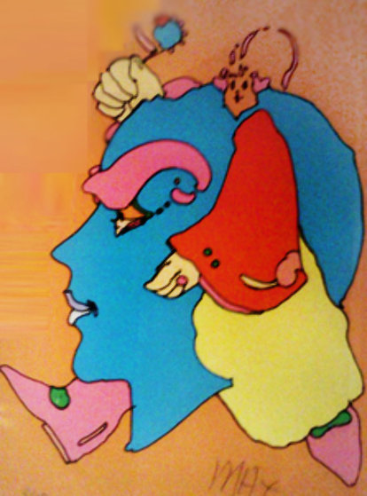 Head 1971 Limited Edition Print by Peter Max
