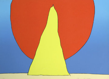 Closer to God 1971 (Early) Limited Edition Print by Peter Max