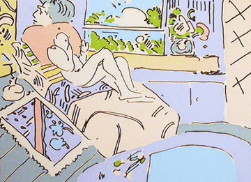 Jamaica 1974 Limited Edition Print by Peter Max