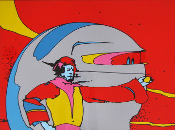 In Space AP Limited Edition Print - Peter Max