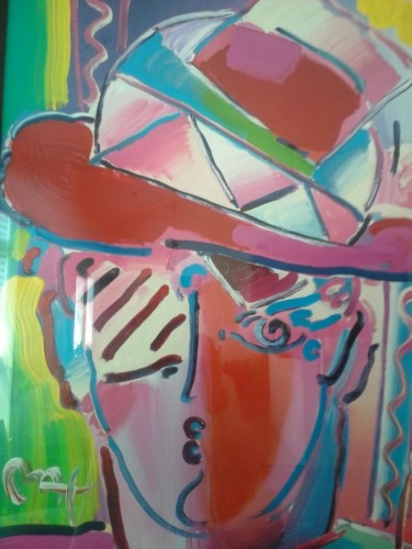 Zero Prism 2002 40x34 Super Huge Works on Paper (not prints) by Peter Max