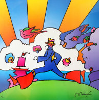 Cosmic Runner  2000 Limited Edition Print by Peter Max - 0