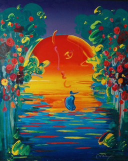 Better World II  1998 Limited Edition Print - Peter Max