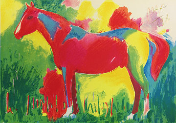 Northern Dancer 1986 Limited Edition Print - Peter Max