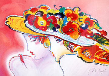 Friends 2001 Limited Edition Print by Peter Max