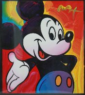Mickey 2003 Unique 2003 37x35 Works on Paper (not prints) by Peter Max - 1