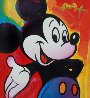Mickey 2003 Unique 2003 37x35 Works on Paper (not prints) by Peter Max - 0