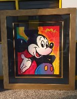 Mickey 2003 Unique 2003 37x35 Works on Paper (not prints) by Peter Max - 2