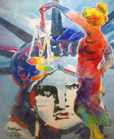 With Liberty And Justice For All Touro Law Center 1995 Limited Edition Print by Peter Max - 0
