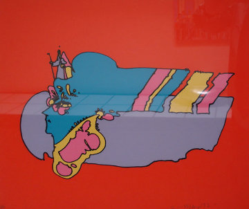 Remembering The Flight 1970 (Vintage) Limited Edition Print - Peter Max