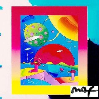 Year of 2250 Unique 30x26 Works on Paper (not prints) by Peter Max