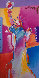Statue of Liberty 2001 53x34 Works on Paper (not prints) by Peter Max - 0