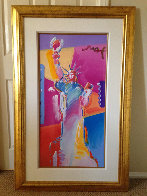 Statue of Liberty 2001 53x34 Super Huge Works on Paper (not prints) by Peter Max - 1