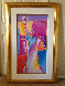 Statue of Liberty 2001 53x34 Works on Paper (not prints) by Peter Max - 1
