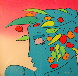 Blue Lady Planet 1989 Limited Edition Print by Peter Max - 0