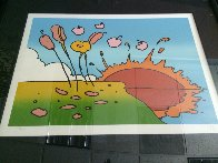 Sunrise Flowers  1972 (Vintage) Limited Edition Print by Peter Max - 3