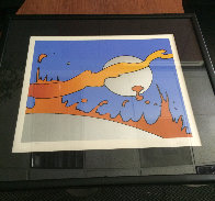 Close to the Sun  Limited Edition Print by Peter Max - 1