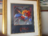 New York Flower Show 1999 36x31 Unique Works on Paper (not prints) by Peter Max - 1