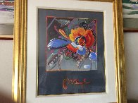 New York Flower Show 1999 36x31 Unique Works on Paper (not prints) by Peter Max - 2