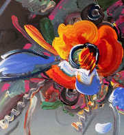 New York Flower Show 1999 36x31 Unique Works on Paper (not prints) by Peter Max - 0