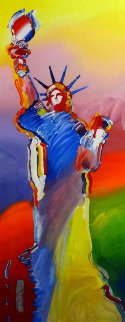 Statue of Liberty (Large) 2010 Limited Edition Print - Peter Max
