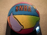 Basketball Painted Icon Series 2001 Sculpture by Peter Max - 4