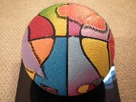 Basketball Painted Icon Series 2001 Sculpture by Peter Max - 7