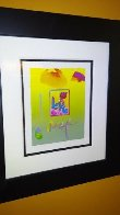 Love  2008 22x25 Works on Paper (not prints) by Peter Max - 1
