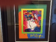 Blushing Beauty on Blends 2006 10x8 Works on Paper (not prints) by Peter Max - 3