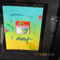 Umbrella Man 2006 8x11 Works on Paper (not prints) by Peter Max - 1
