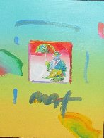 Umbrella Man 2006 8x11 Works on Paper (not prints) by Peter Max - 0