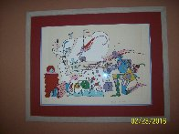 Innocence PP 1971 Limited Edition Print by Peter Max - 1