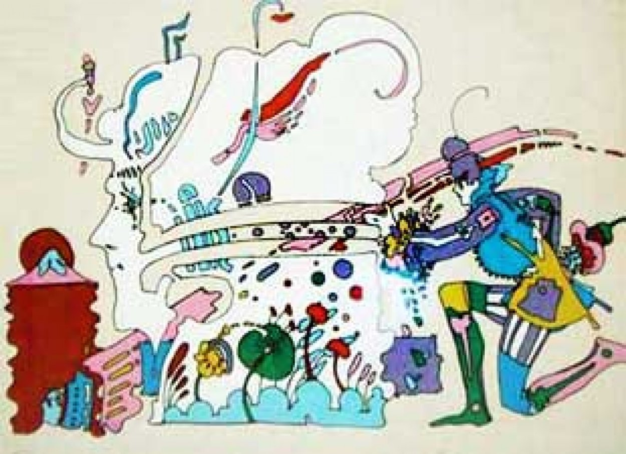 Innocence PP 1971 Limited Edition Print by Peter Max