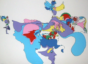 Going East 1970 Limited Edition Print by Peter Max