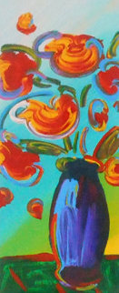 Vase of Flowers 2010  Limited Edition Print - Peter Max