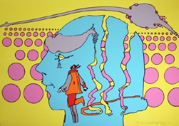 Within And Without 1972 Limited Edition Print by Peter Max