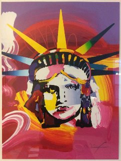 Liberty Head 2000 Limited Edition Print by Peter Max
