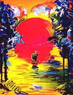 Better World 1991 Limited Edition Print by Peter Max