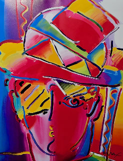 Zero Prism 2001 Limited Edition Print - Peter Max
